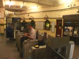 London:  Great Britain:      Hampstead tube station