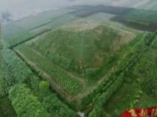 Шэньси:  Китай:      Мавзолей династии Хань
