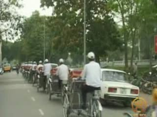 河內市:  越南:      Hanoi rickshaw