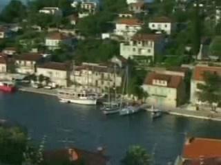 Стоморска:  Шолта:  Хорватия:      Гавань в Стоморске