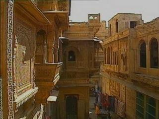 Jaisalmer:  Rajasthan:  India:      Haveli in Jaisalmer