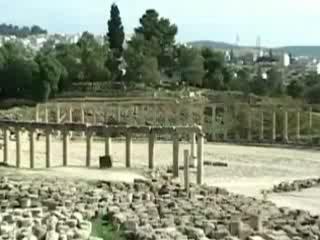 Jerash:  Jordan:      Hippodrome ancient city