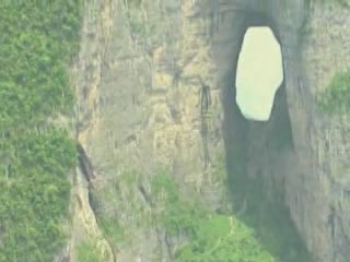 Images Hole of Tianmen Mountain  landscape