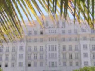 Rio de Janeiro:  Brazil:      Hotel Copacabana Palace