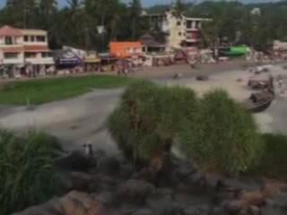 Ковалам:  Керала:  Индия:      Отель в Коваламе