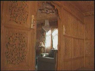 Srinagar:  Jammu and Kashmir:  India:      Houseboat in Srinagar