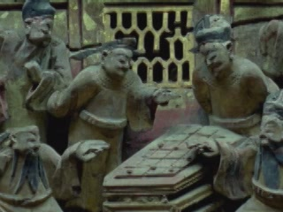 Аньхой:  Китай:      Резьба по дереву Хойчжоу