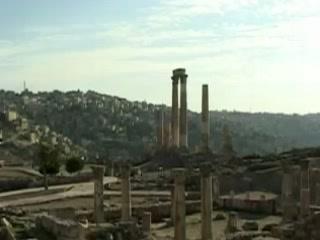 Амман:  Иордания:      Цитадель Аммана