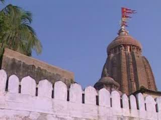 Орисса:  Пури:  Индия:      Храм Джаганнатхи в Пури