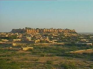 ジャイサルメール:  ラージャスターン州:  インド:      Jaisalmer Fort