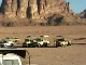 Jeeping in Wadi Rum (ヨルダン)