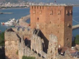 Alanya:  Turkey:      Kızıl Kule