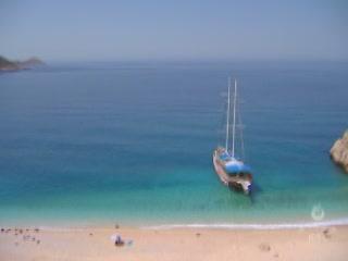 Kalkan:  安塔利亚:  土耳其:      Kaputas Beach
