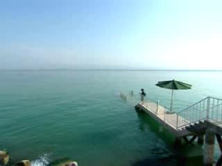 索格特州:  タジキスタン:      Kayrakkum Reservoir