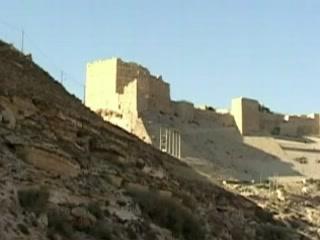 Эль-Карак:  Иордания:      Крепость Эль-Карак