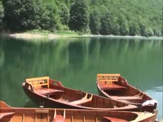 Kolasin:  Montenegro:      Lake Biograd