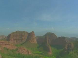 Qinghai:  China:      Landscapes of Qinghai