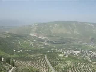 伊爾比德:  约旦:      Landschaft Irbid