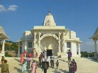 齋浦爾:  拉贾斯坦邦:  印度:      Laxmi Narayan Temple in Jaipur
