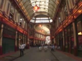 Лондон:  Великобритания:      Рынок Лиденхол