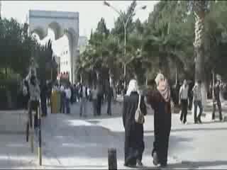 Irbid:  Jordan:      Local people Irbid