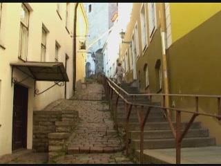 Tallinn:  Estonia:      Luhike Jalg Street