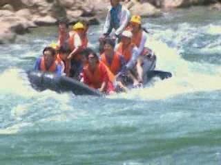 Zhangjiajie:  China:      Maoyan River Rafting