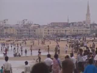 Chennai:  Tamil Nadu:  India:      Marina Beach