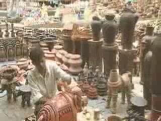 Хайдарабад:  Андхра-Прадеш:  Индия:      Рынок в Хайдарабаде