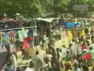 Нампула:  Мозамбик:      Рынок в Нампуле