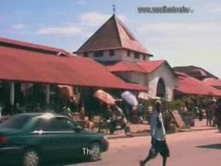 ザンジバルシティ:  ザンジバル諸島:  タンザニア:      Market in Zanzibar