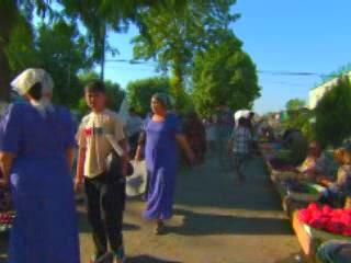 Margilan:  フェルガナ盆地:  ウズベキスタン:      Market of Margilan