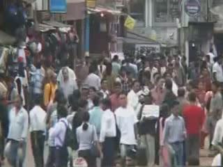 Shillong:  梅加拉亚邦:  印度:      Market rows in Shillong
