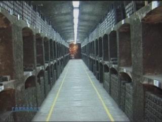 ヤルタ:  Crimea:  ウクライナ:      Massandra wine cellars