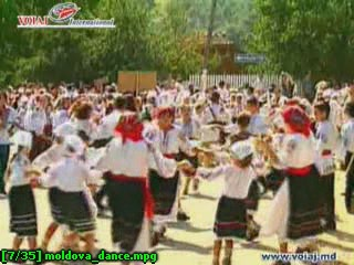 Молдавия (Республика Молдова):      Молдавский танец