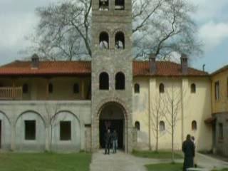 Litochoro:  Greece:      Monastery in Litochoro