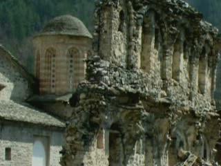 Салоники:  Греция:      Монастырь св.Дионисия