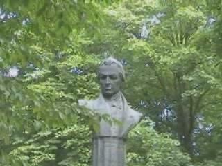 Kiev:  Ukraine:      Monument to Kotlyarevsky