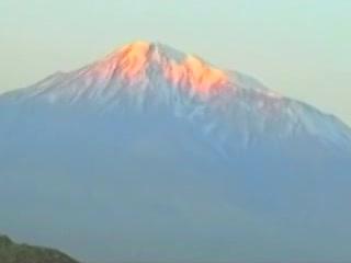 アルメニア:      アララト山