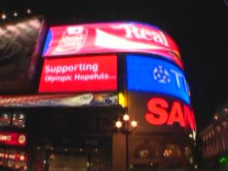 Лондон:  Великобритания:      Ночной Лондон
