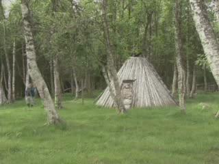 Швеция:      Поселок саами Ньярка