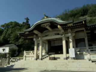 Tomonoura:  Fukuyama:  Japan:      Nunakuma Shrine