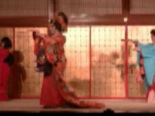 Japan:      Oiran show in Noboribetsu Date Jidaimura