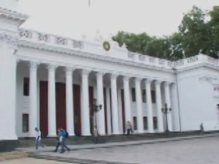 Odessa:  Ukraine:      Old Exchange Building