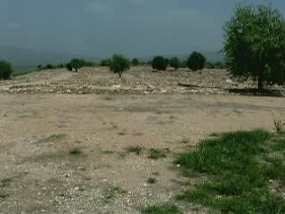 Халкидики:  Греция:      Олинф - античный город