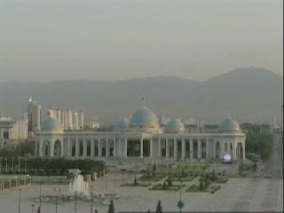 Ashgabat:  Turkmenistan:      Ruhyyet Palace