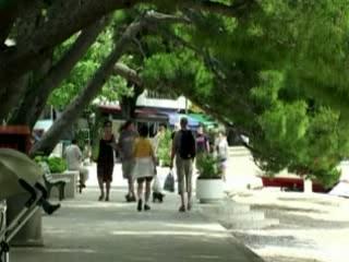 Brela:  Croatia:      Population Brela