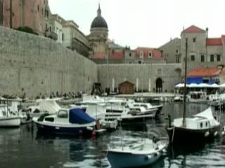 Дубровник:  Хорватия:      Порт в Старом Городе