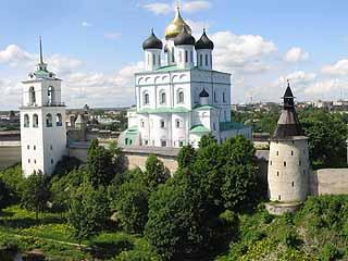 普斯科夫:  普斯科夫州:  俄国:      Pskov Krom