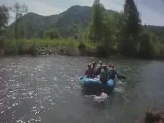 Karlovac:  Croatia:      Rafting on the Kupa